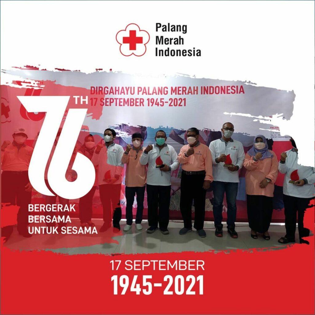 Pengundian Motor PTRS di PMI Kabupaten Gresik saat Hari Palang Merah Indonesia