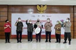Pemenang Undian Motor untuk Pendonor Surabaya
